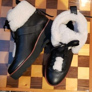 Coach Urban Hiker Shearling Boots. Price Firm.